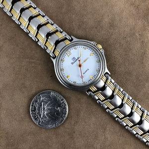 RICARDO Accessories - Vintage RICARDO Watch Nice 2 Tone Diamond Markers